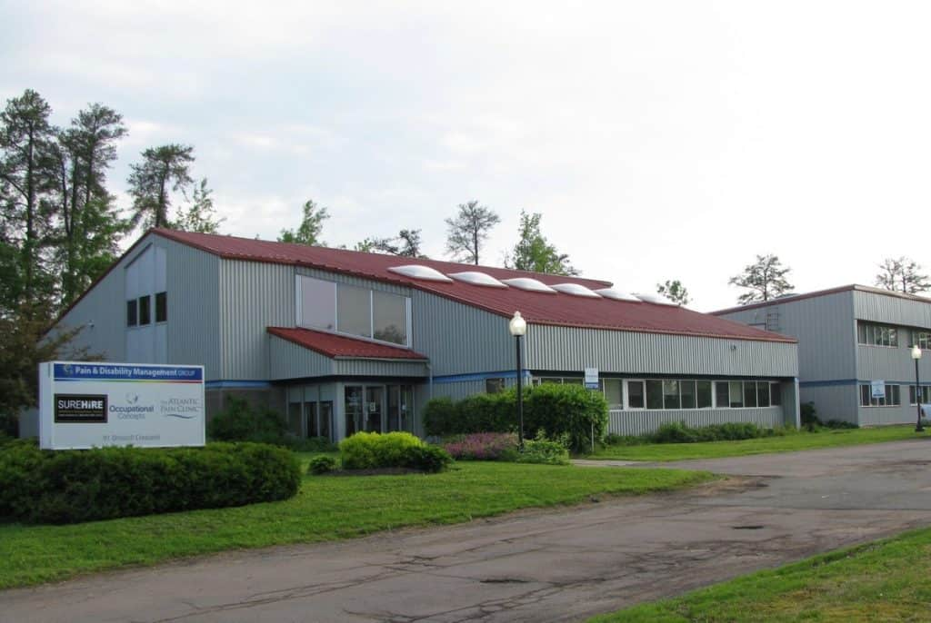 The Atlantic Pain Clinic rehab centre, gym and medical offices